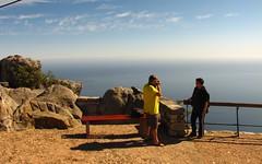 Table Mountain - Cape Town (meeeeeeeeeel) Tags: ocean africa travel sea mountain tourism nature beauty rock southafrica mar natureza capetown aviary blueskies atlanticocean montanha tablemountain africadosul cidadedocabo kaapstad ikapa