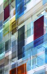 Forum 3 - Novartis Campus, Diener & Diener, 2005 | Basel, CH (Matthias Van Rossen) Tags: glass architecture facade switzerland basel architect colored novartis diener