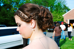 (kdem) Tags: beautiful hair fun juniorprom gorgeous makeup limo highschool prom hairstyle macmakeup promhair