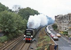 Scarborough Spa Express (DH73.) Tags: york city west country railway wells crescent southern scarborough express 1983 spa bootham 34092
