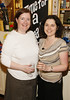 Mary McNeilly and Deirdre Hughes at the opening of Blackrock Cellar in Blackrock village