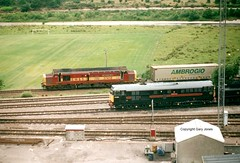 Fragonset 31 at Fort William (onthebeast) Tags: west fort scottish william class highland 31 railways ews 31190 fragonset 37418