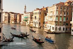 Venecia (arturii!) Tags: trip travel venice sea building water beauty architecture speed wow river boats isla