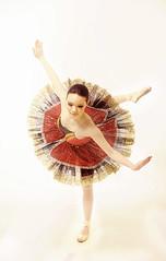 Balance (Cillian Storm) Tags: red ballet dance nikon ballerina profoto nikond90