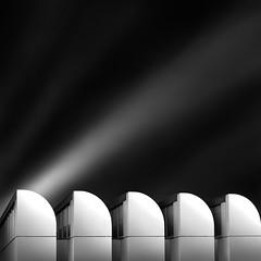 a path to the sky IV - waves in the sky (Julia-Anna Gospodarou) Tags: city longexposure roof sky urban blackandwhite bw abstract building berlin monochrome architecture clouds germany square daylight nikon waves tripod curves perspective le repetition photowalk streaks tamron highlight 2012 manfrotto modernbuilding hoya blacksky nd400 manfrotto055xprob whiteshapes bw106 nikond7000 googlegoogleplus juliaannagospodarou europhotowalk siruik20x lerockstar thequeenofthedarkfilters tamronaf18270mm3563pzd