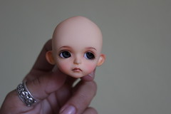 Beths cookie (Vainilladolly) Tags: yellow cookie custom faceup lati vainilladolly hometan