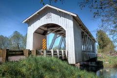 Gilkey Bridge (sandyhd) Tags: oregoncoveredbridges gilkeybridge