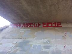 S.A.V.KREW 2012 (HiMyNameIs.) Tags: street art graffiti roller block bomb societys average villains 2012 savor krew suler savk savkrew