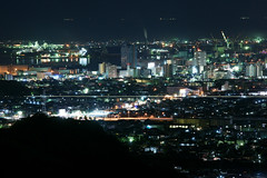 Shimizu Night View (peaceful-jp-scenery) Tags: night sony  tamron  shimizu  a001    dslra900  spaf70200mmf28di  yanbara