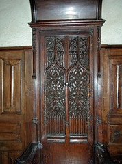 (Tiigra) Tags: 2010 france applied carving castle interior museum ornament wood object art