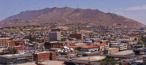 Franklin (TX) United States  City new picture : The Franklin Mountains of El Paso, with notes by spysgrandson thanks ...