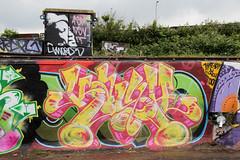 graffiti (wojofoto) Tags: streetart holland amsterdam graffiti nederland netherland ndsm noord kash wolfgangjosten wojofoto