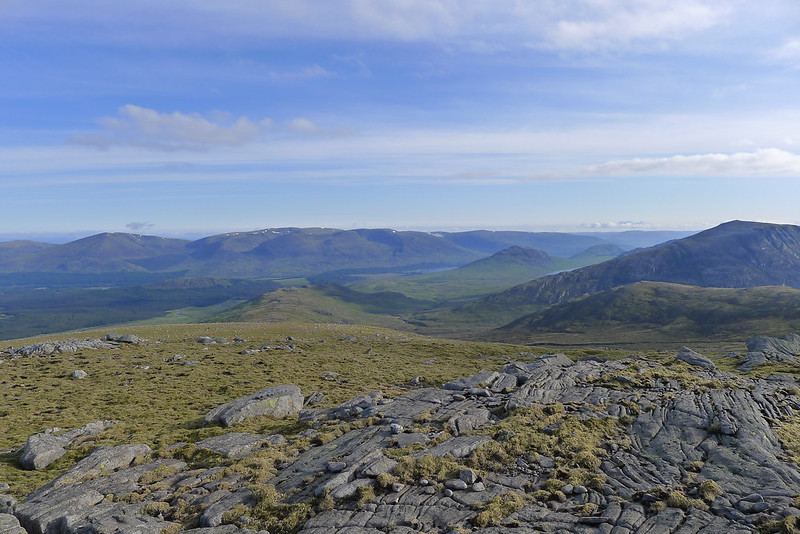 Glen Spean from Beinn Eibhinn