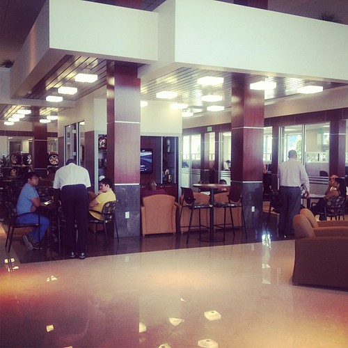 The Amazing Service Waiting Area At The New Toyota Of Orlando Facility!