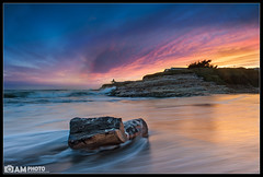 Natural Explosion (Aaron M Photo) Tags: california wood longexposure sunset santacruz seascape motion color beach nature beautiful clouds landscape photography coast movement log nikon pretty explosion gazebo hut westcoast naturalbridges 2012 statebeach naturalbridgesstatebeach d700 nikond700 siliconvalleyphotography bayareaphotography aaronmeyersphotography