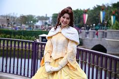 belle (alienalice) Tags: sleeping beauty princess aurora belle cinderella disneyprincess disneycharacters beautythebeast hongkongdisneyland hkdl