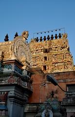 Pondicherry (India). Templo Kamatchi Ammam (santi abella) Tags: india pondicherry artehindú templokamatchiammam