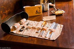 Portable lunch utensils (Justin P. Ross) Tags: old house history home nikon kentucky 1800s knife fork historic louisville conrad utensil f4 caldwell portible d7100