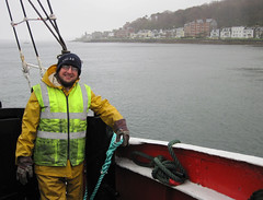 Rothsay and Jim (chessieboater) Tags: scotland puffer vic32