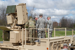 Sentinel arrives back at Drum (U.S. Army Fort Drum & 10th Mountain Division) Tags: training radar sentinel fortdrum 10thmountaindivision 1stbrigadecombatteam 2ndbrigadecombatteam hhbn anmpq64a3 10thbsb 210bsb