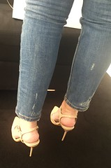 And what about a big close up of my wife's sexy heels ? (Curto_um_pezinho) Tags: woman sexy feet girl sex lesbian foot shoe high legs mulher butt wife ps pernas heel salto alto pezinhos sapato lsbica esposa