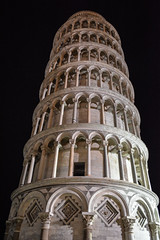 Leaning Tower of Pisa 5 (chriswalts) Tags: travel sunset italy streets tower night pisa leaning