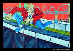Der Mauerspringer (1990) - Gabriel Heimler, East Side Gallery, Berlin (Marc Funkleder Photography) Tags: streetart color berlin art germany deutschland graffiti nikon tag berlinwall allemagne couleur eastsidegallery berlinermauer artderue d600 murdeberlin 2470mm28 nikond600 mhlenstrase dermauerspringer gabrielheimler