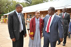 When the Head Girl met the Head of the Ministry