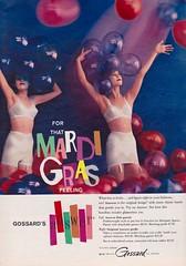 Gossard 1959 (moogirl2) Tags: vintage retro 50s 1959 seventeen gossard vintageads vintagelingerie vintagefashions vintageseventeenmagazine 50sfashions