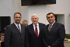 Romanian Pastors-Speaking at Bethel Bapt Ch for Radio Voice of the Gospel