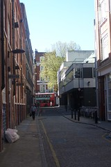 Bus (My photos live here) Tags: road street city england urban bus london buildings capital central straight emerald