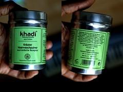 KHADI - Natural Shampoo (WILLPOWER STUDIOS) Tags: natural shampoo cosmetics haircare ayurveda khadi ayurvedic
