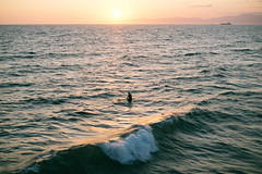 Manhattan Beach (ilukmanova) Tags: ocean sunset losangeles surf manhattanbeach laphotographer