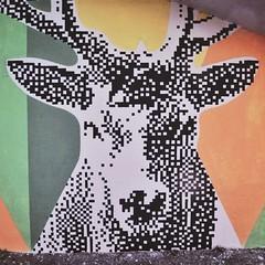 Dettagli dalla Stazione di Pavona (.krayon) Tags: artwork handmade wallart streetartist pixel pixelart 8bit wallpainting krayon pixelartist streetarteveryday pixelgalley