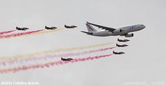 A330 Air Europa+Patrulla guila (_altaria01669_) Tags: espaa del spain europa force air spanish sp airbus es 75 aeroport aeropuerto aire base a330 ae area leto espaol ejercito aerea eda aea ejrcito torrejn torrejon aerien aerienne