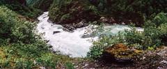 Utladalen (HolmisticWalker) Tags: panorama film norway river july slide fujichrome rdal rxp fujiprovia400x utladalen utla vre zenithorizon202