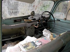 CIRCA 1964 RENAULT 4 BARN FIND (Midlands Vehicle Photographer.) Tags: barn 4 renault circa find 1964