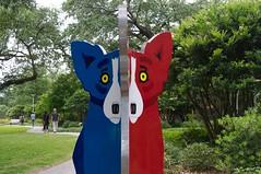 Split Corginalities (jasonlttl) Tags: nola sculpturegarden