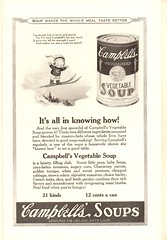 1923 Campbells Soups Advertisement National Geographic January 1923 (SenseiAlan) Tags: january advertisement national campbells geographic soups 1923