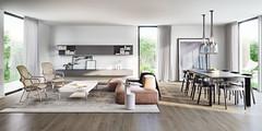 Apartment9_living (jbrckovic) Tags: 3d visualisation interior exterior architecture design visualization