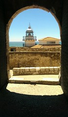 Faro de Peiscola. (Carlos Vinagrito) Tags: faro arquitectura arquitecture