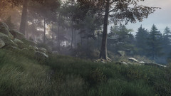 VOEC - 005 (Screenshotgraphy) Tags: bridge sunset mountain lake game nature water colors contrast forest landscape soleil screenshot gare lumire lac ethan steam gaming beaut carter concept paysage vanishing campagne foret beautifull jeu naturelle urbain