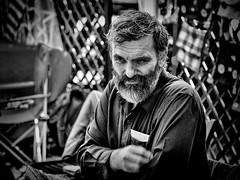 (Constantin Florea) Tags: life street city portrait people urban blackandwhite bw man monochrome face canon blackwhite outdoor candid streetphotography streetphoto capture