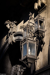 Calle Alcal, Madrid. (Explore 15/06/2016) (Eugercios) Tags: madrid light espaa detalle luz lamp espanha europa europe streetlamp capital lampara cultura alcala candeeiro ministerio comunidaddemadrid madridcentro