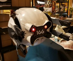 OBLIVION DRONE AT WONDERFEST 2016. (suki5150) Tags: ohio robot kentucky lucasfilm tomcruise r2d2 louisville droid oblivion c3po space1999 drone brianjohnson theempirestrikesback gerryanderson wonderfest r5d4 moonbasealpha eagletransporter nicktate silentrunningtribute