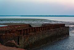 Rust (NA.dir) Tags: travel sunset sea work arabian j1 jamnagar nikon1