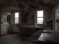 Kitchen Area (U.....H....I...N) Tags: pictures urban newyork building history abandoned rotting beauty architecture hospital wonder fun photography virginia weird dc crazy dangerous escape general pics pennsylvania decay exploring police maryland pic run historic haunted medical illegal jersey rough dying left destroyed scarry captures urbex tuberculosis dierelect