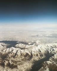 (Paul Bauer Photo) Tags: sky mountain alps film analog 35mm airplane paul kodak bessa bauer alpen voigtlnder r2a