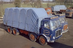 W.E.Reeve Mammoth Major (Bournemouth 71B / 70F) Tags: road thames truck austin transport lorry vehicle dodge erf load livestock southall carry maidstone deliver flatbed haulage aec detling tomjohnston sheeted worldtruck wereeveltd wereeve