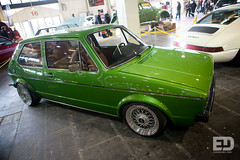 """Green VW Golf mk1 • <a style=""""font-size:0.8em;"""" href=""""http://www.flickr.com/photos/54523206@N03/6892952868/"""" target=""""_blank"""">View on Flickr</a>"""